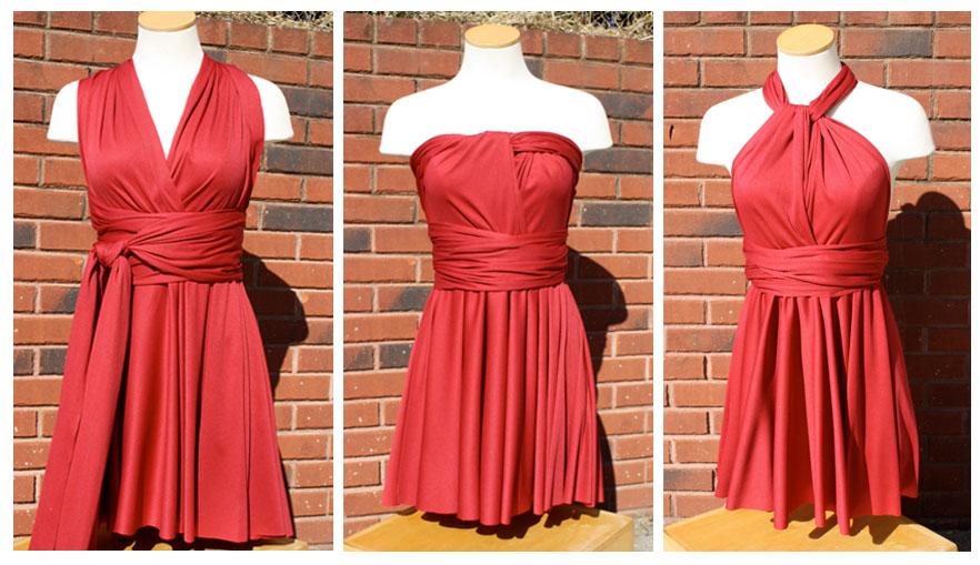 Infinity wrap dress 11