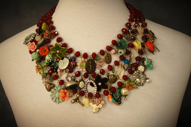 Charming Red Necklace