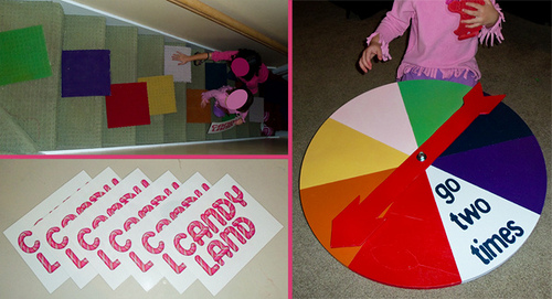 full size candy land game spinner