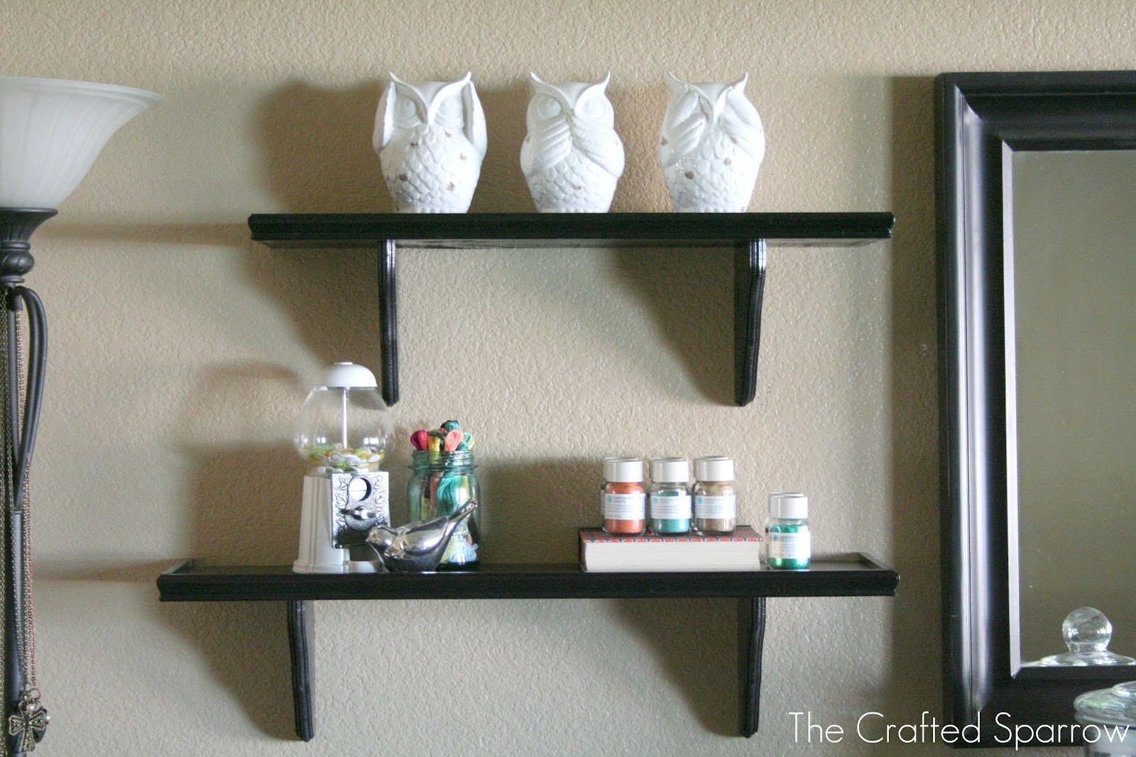 DIY Decorative Shelves Tutorial