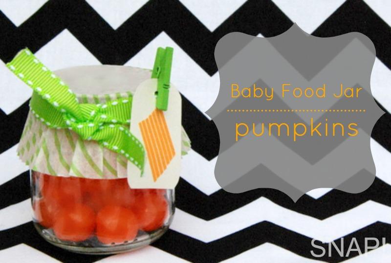 Baby food pumpkins