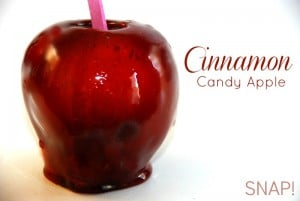 Snow White & the Huntsman & Candy Apple Recipe