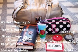 What's in My Handbag: Southern Hospitality