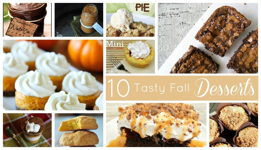 10 great fall desserts