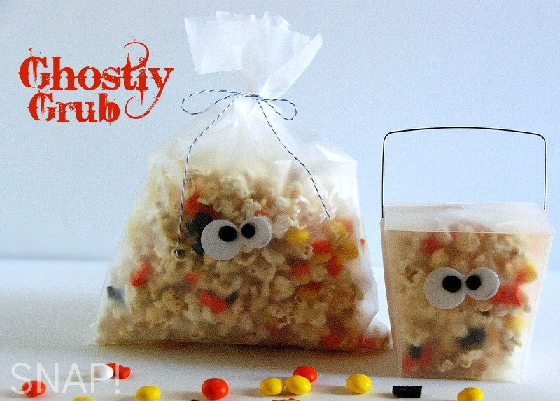 Ghostly Grub Halloween Treat