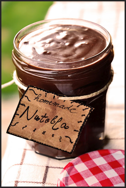 Nutella-style spread recipe