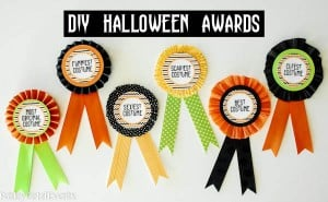 DIY Halloween Costume Awards