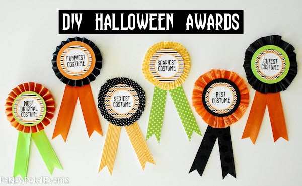 DIY Halloween Costume Awards