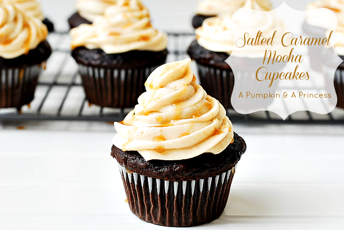 Salted Carmel Cupcakes