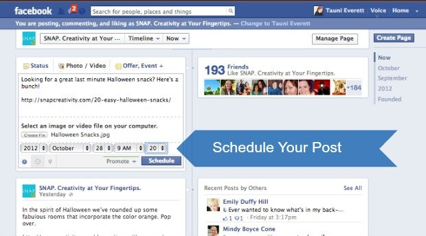 how to search posts by date on facebook