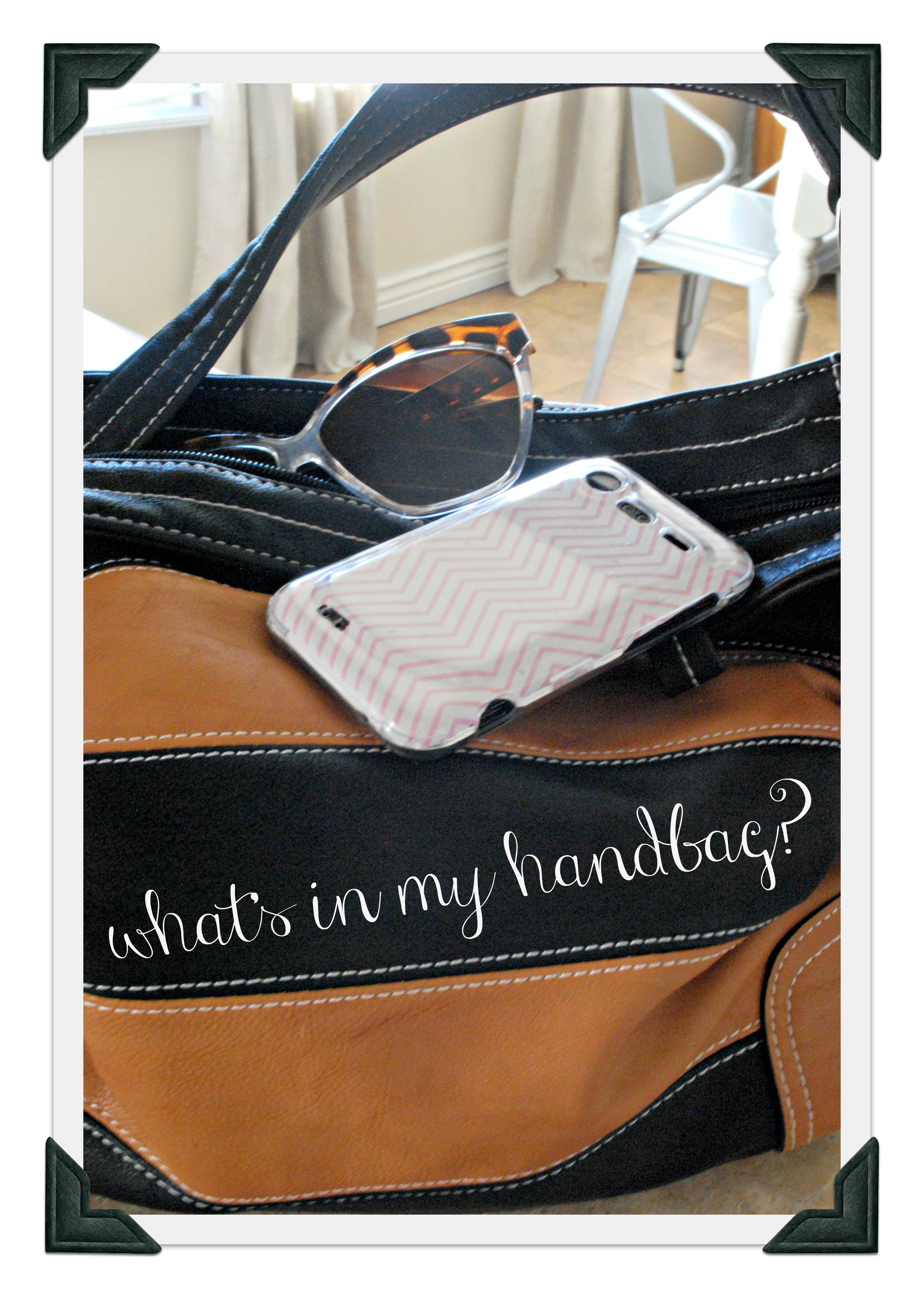 What's In My Handbag – The Shabby Nest