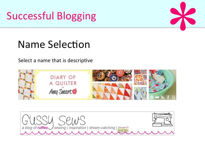 Successful blogging