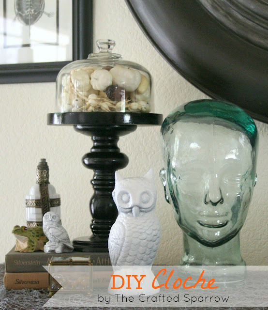 DIY Cloche {Halloween Display}