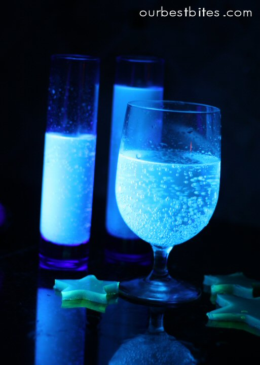 glow in the dark Halloween drink