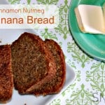Cinnamon nutmeg banana bread recipe