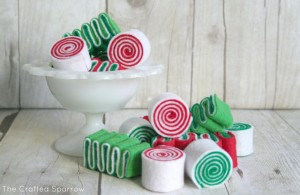 Felt Ribbon candy tutorial