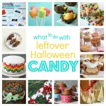 recipes to use leftover Halloween candy