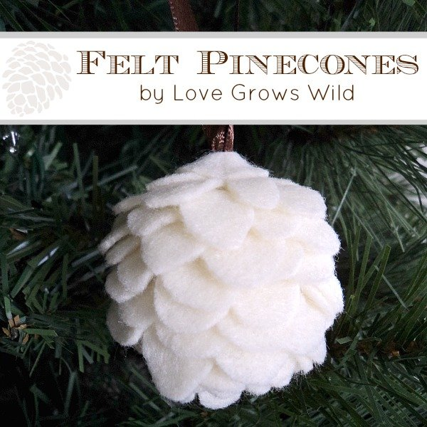 Christmas ornaments love grows wild