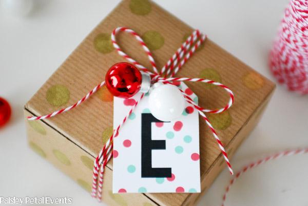 Handmade christmas box and embellishments
