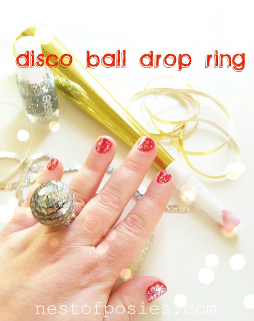 DIY New Years Eve Ring