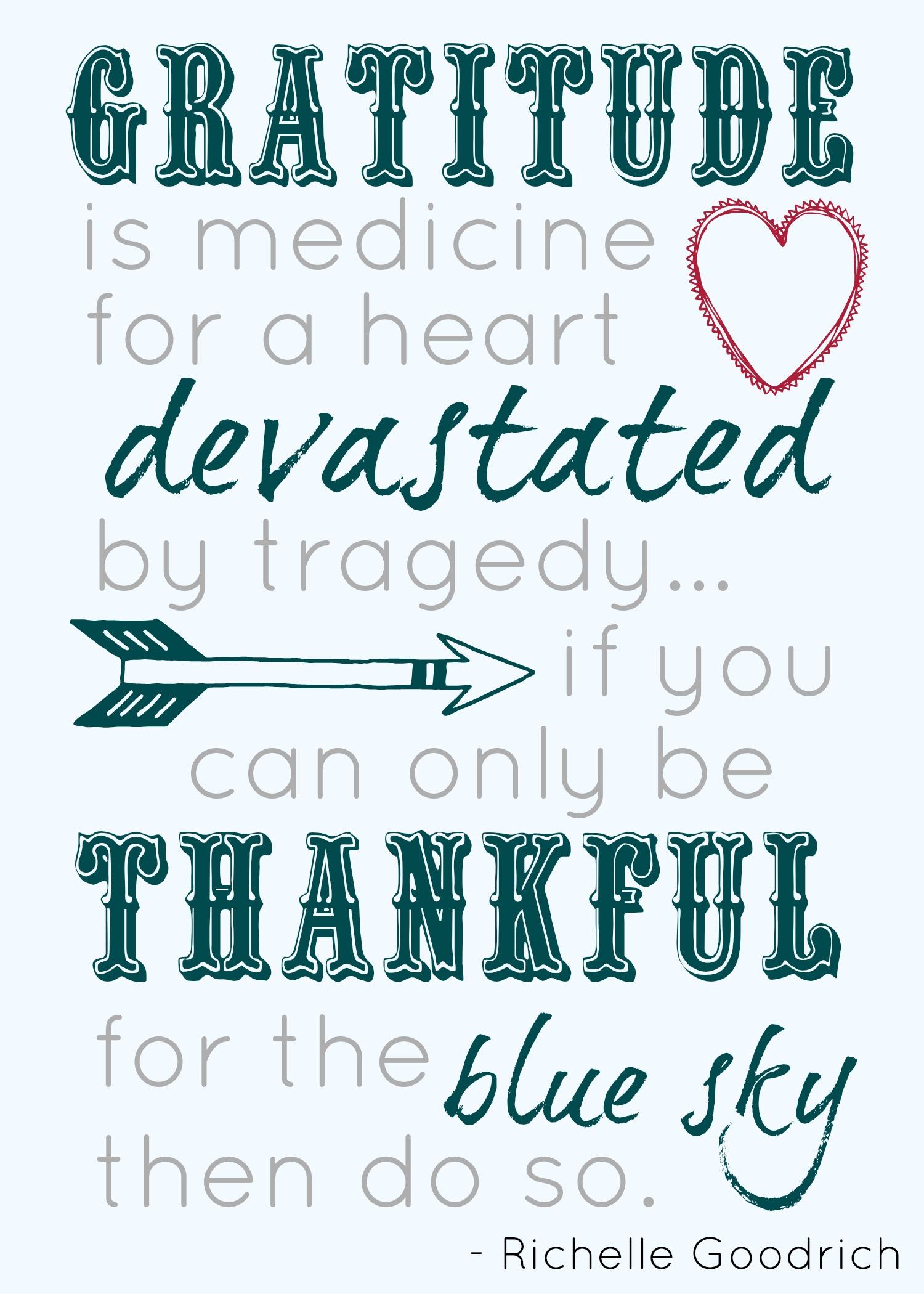 Gratitude in tragedy jpg