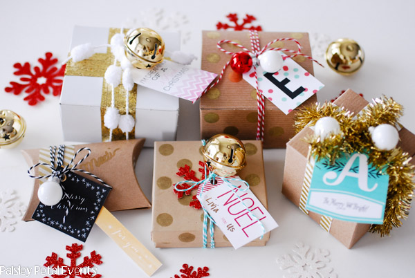 Handmade wrapping ideas
