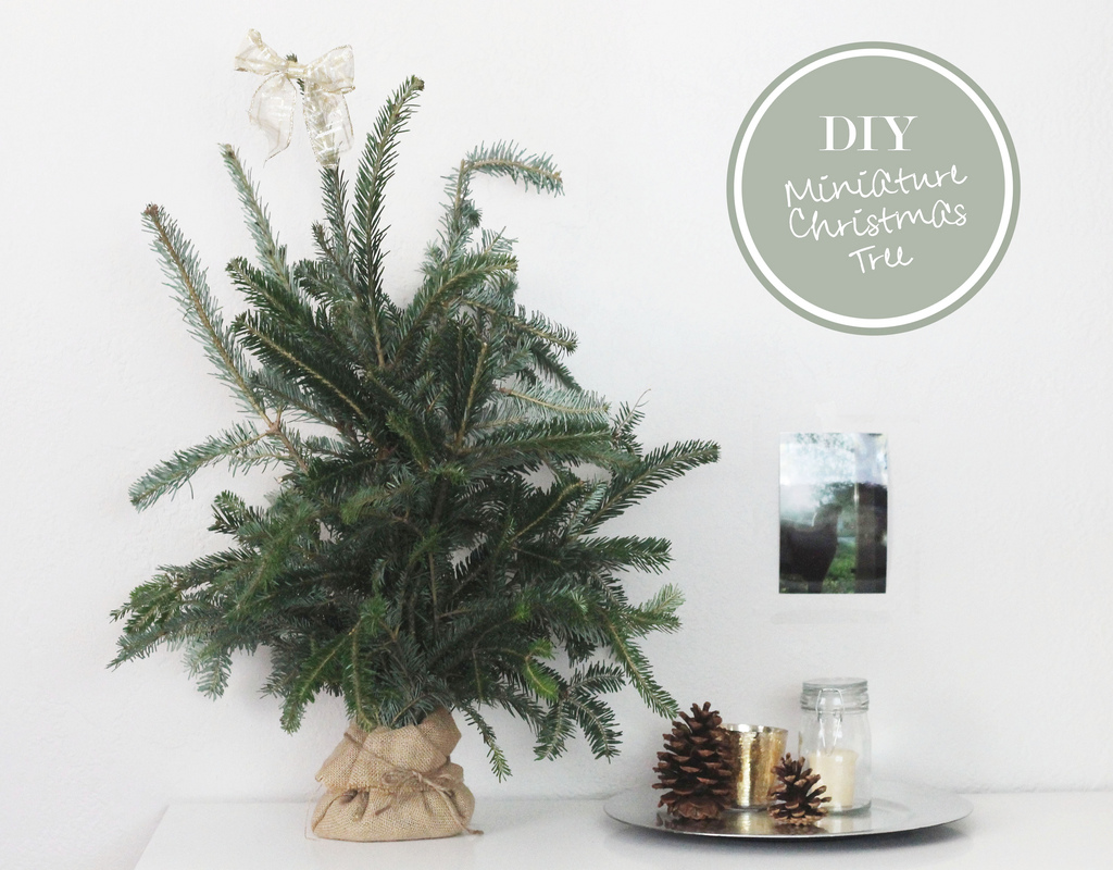 Mini Christmas Tree Love and Whimsy