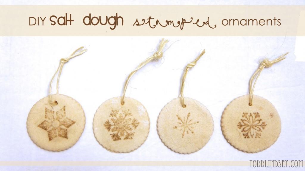 Salt Dough Christmas Ornaments Todd and Lindsey