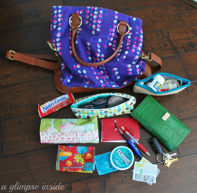 What's in My Handbag: A Glimpse Inside