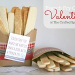 French Fry Cookie Valentines