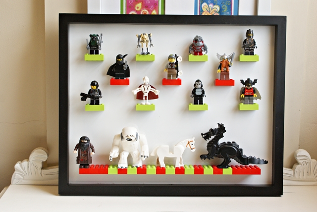 DIY Lego Display Case