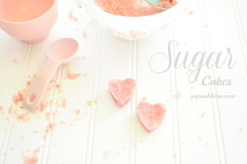 Sugar Cubes via JoJo and Eloise