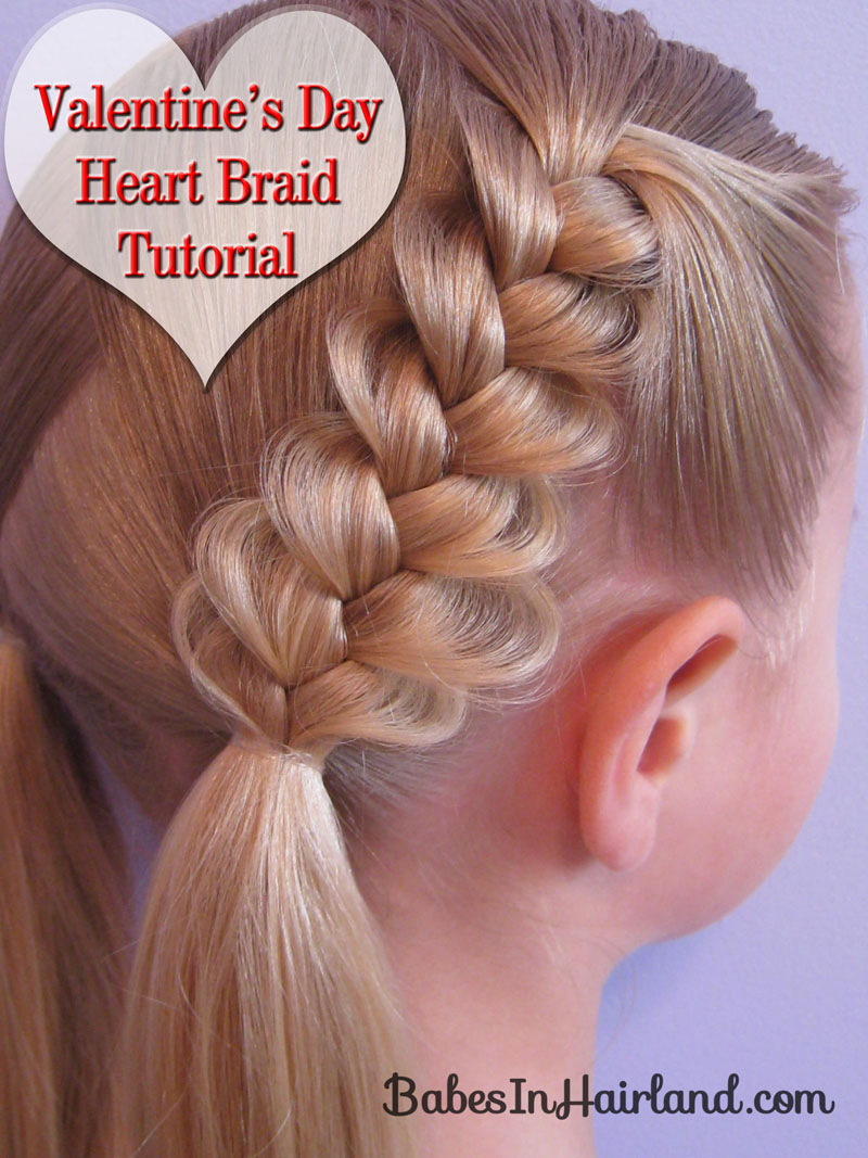 Valentines Day Braids