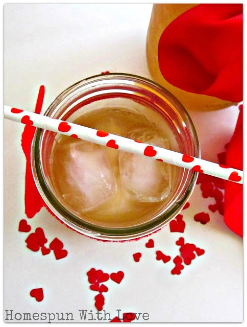Vanilla Ginger Ale Syrup via Homespun with Love