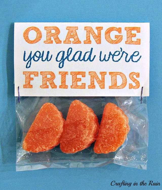 orange valentines via Crafting in the Rain