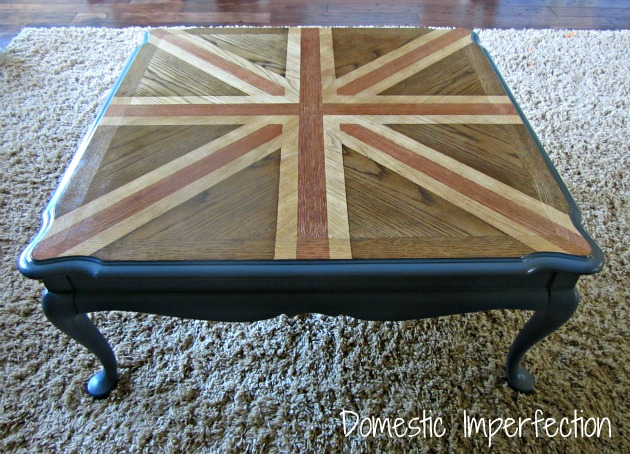 union jack table via Domestic Imprtfection