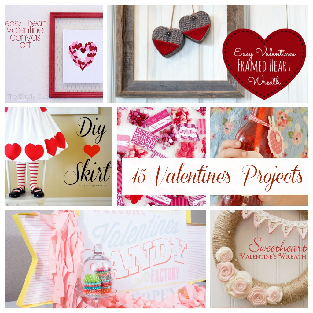 15 Valentines Day Projects