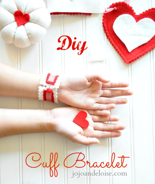 diy-cuff-bracelet via Jojo and Eloise