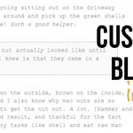 Customize Block Quotes in Blogger