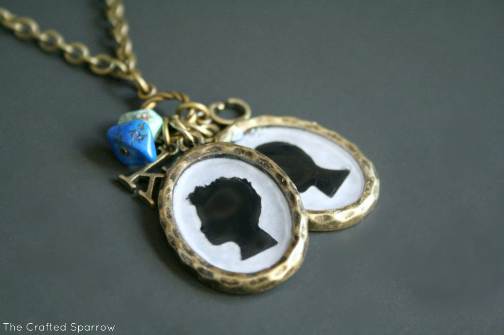 DIY-Silhouette-Pendant-Necklace