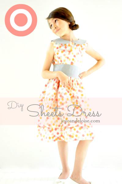 Dress Made of Sheets via JoJo and Eloise