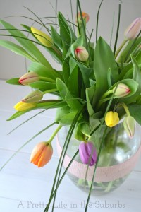 Tulips via A Pretty Life