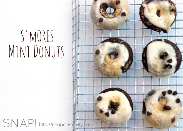 Smores Mini Donuts Recipe 1