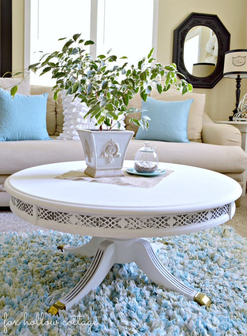 Table Upcycle via Fox Hollow Cottage