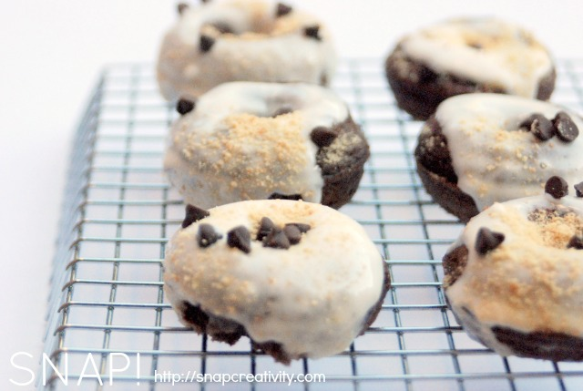 smores mini donut recipe