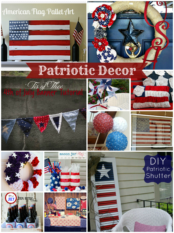 Pretty Patriotic Decor