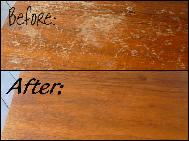DIY scratch repair via Domestic Bliss Squared