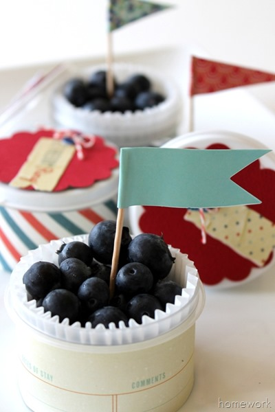 Easy Patriotic Berry Cups via homework