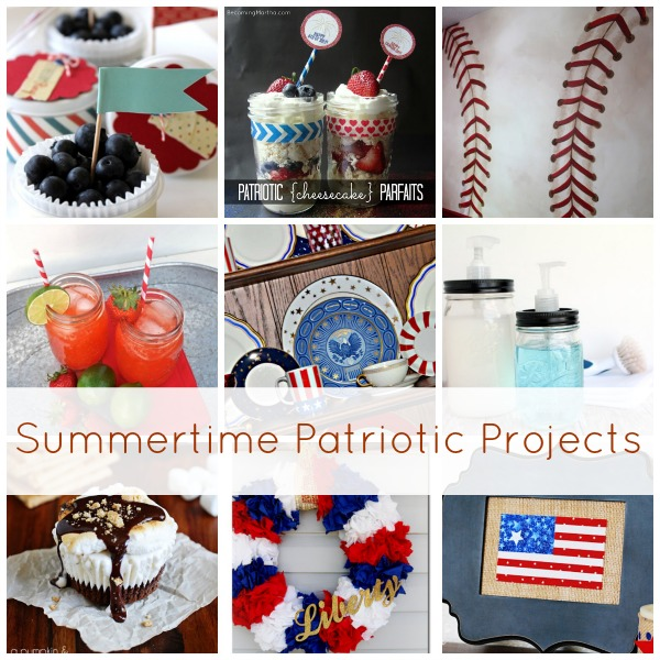 Show & Tell No. 51: Summertime Patriotic Projects