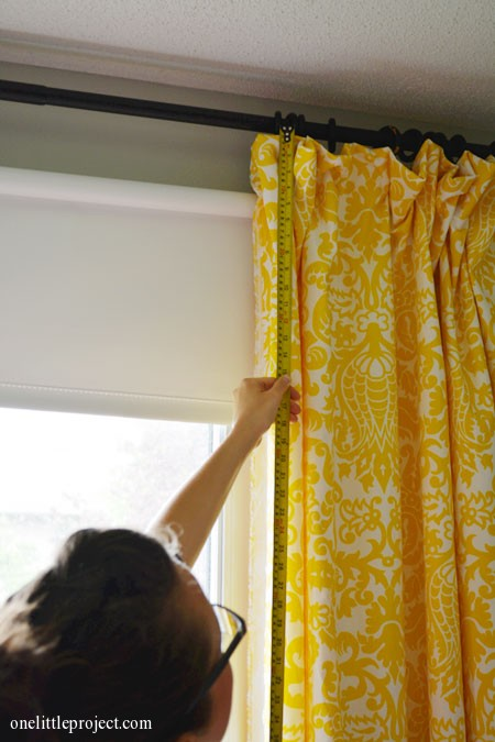 How to Make Blackout Curtains via One Little Project